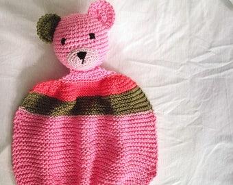 Bear -  baby doudou nap