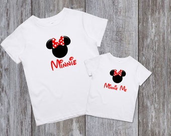 Disney shirts Disney Family Shirts Matching Minnie Mommy and Me Disney Shirts Mother and daughter Minnie Me Shirt Family Disney Shirts