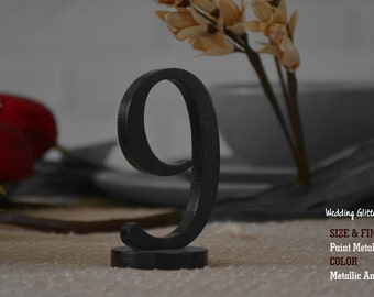 1-10 Wood Table numbers and Wedding Signs, DIY