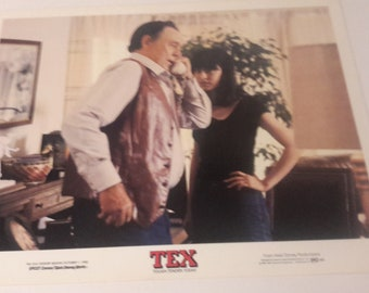 tex ben johnson,meg tilley,walt disney 1982 lobby card