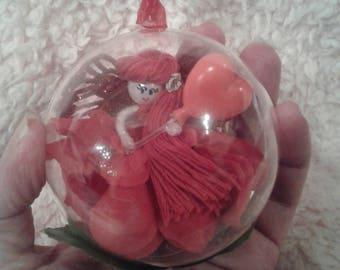 Heart balloon fairy