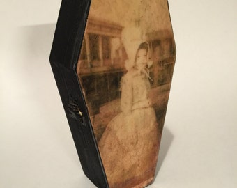 ghostly girl coffin box