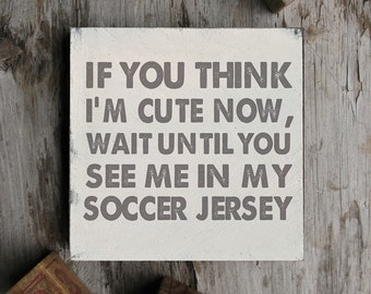 Soccer Sign, Soccer Quote, Soccer Baby Shower, Soccer Player Gift, Soccer Girl, Soccer Boy, Soccer Player Gift, Soccer Theme, Funny Soccer
