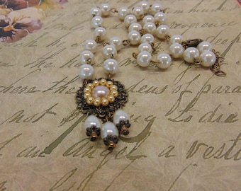 "Renaissance Necklace ""Lady Isabell"""