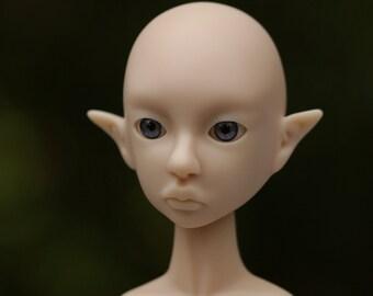 Blank BJD Doll Cerridwen, Slim MSD Elf, 40 cm, Artist doll BJD by miradolls, normal skin tone