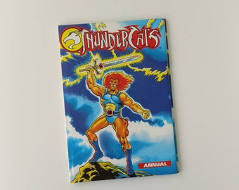 Thundercats Notebook - handmade from an old annual