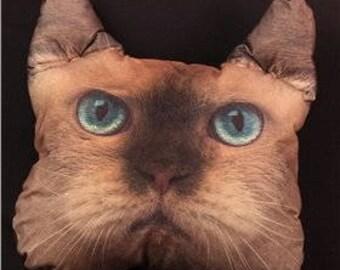 Custom Cat Pillow Pet pillow Decorative pillow Animal pillow