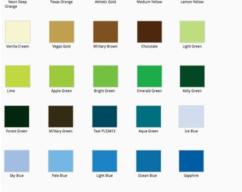 CUSTOM DESIGN COLOR - Add On Only - Add to order if you'd like to change the design color