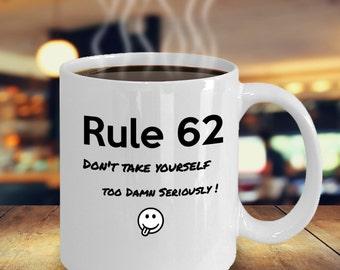 Rule 62 - Recover Coffee Mug