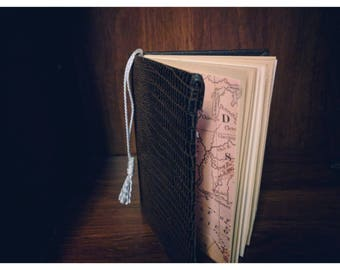 Hand bound blank book!