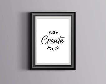 Just Create Stuff - Digital Download