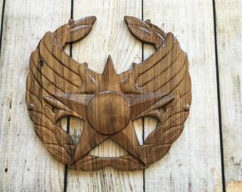 Air Force Commander's Insignia Badge