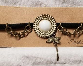 Dragonfly Bracelet, Necklace, Headband