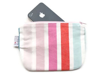 Cell phone purse Small clutch wallet Change purse Coin purse Bridesmaid gift Gifts for her Gifts for women Gifts for coworker Ombre