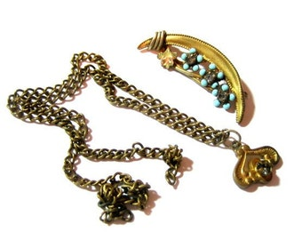 Shabby Victorian Jewelry Parts and Pieces