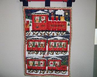 Christmas Advent Calendar - Santa's Christmas Train