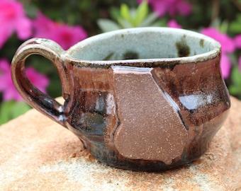 Georgia Mug | GA Pottery | handmade large coffee mug