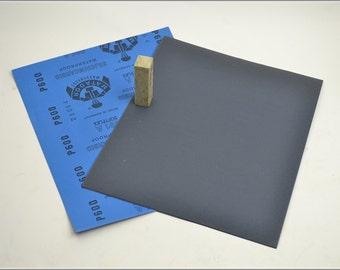 Free Shipping Chinese Calligraphy Material  28x23cm Matador Abrasive Paper Sandpaper 600# - Waterproof / Seal Stone Polishing / - 0010