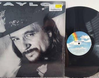 Waylon Jennings LP Will The Wolf Survive (1986) IN SHRINK