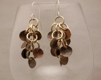 Brass dangling Earrings
