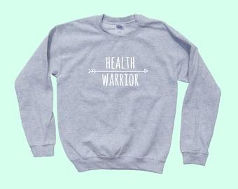 Health Warrior - Crewneck Sweatshirt