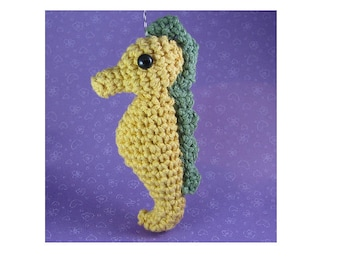 Amigurumi Crochet Pattern - Quick and Easy Cute Seahorse