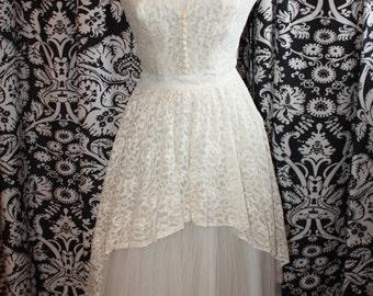 1950's Wedding Gown  Item #168-WG