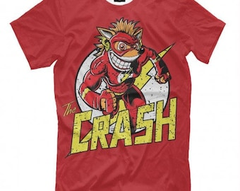 Crash Full Print T-Shirt  All sizes