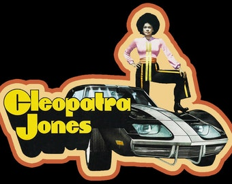 70's Blaxploitation Classic Cleopatra Jones Poster Art custom tee Any Size Any Color