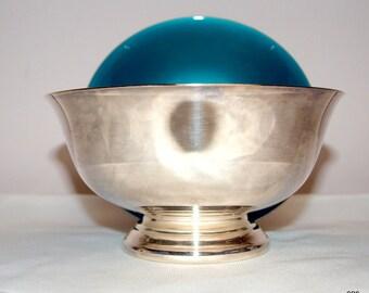 Reed and Barton enameled bowls