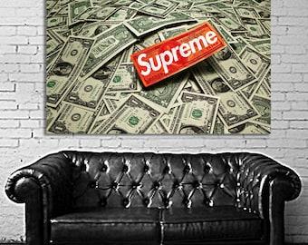 15 Poster Mural Supreme Large Printed on 8mil Paper
