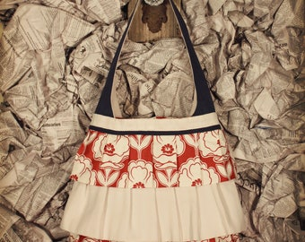 "The ""RUFFLE"" Bag - An everyday tote with a dash of whimsy"
