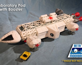 Dinky Space 1999 Eagle Laboratory Pod and Booster