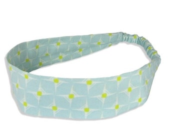 """Fabric Headband - Star Shine- Pick your size - fit toddlers to adults - 1-1/2"""" wide"""