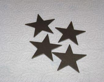 50 Decorative steel stars at a time blank craft stars 50 2.5inch stars