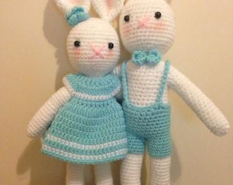 Sale easter bunny , crochet easter bunny , bunny ,knit easter bunny /Easter toy / baby easter / Easter Gift / Easter bunny /