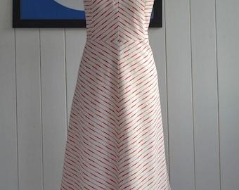 Vintage 70's dress Mod A-line Size 14