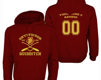 Harry Potter Quidditch Gryffindor Hoodie