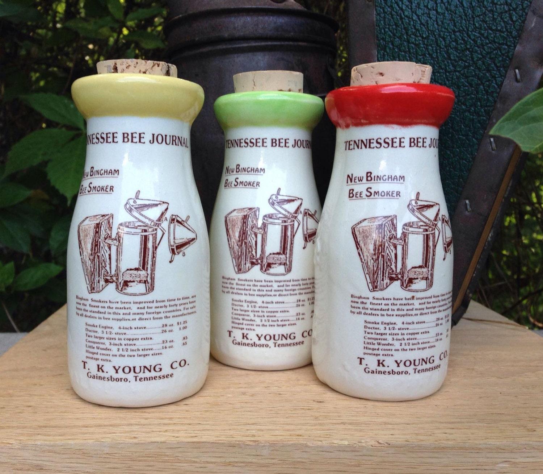 Milch-Flasche-Dekor Milchflasche Raucher Milchflasche