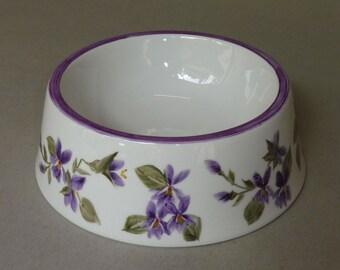Purple Violet Spill Proof Pet Bowl Large