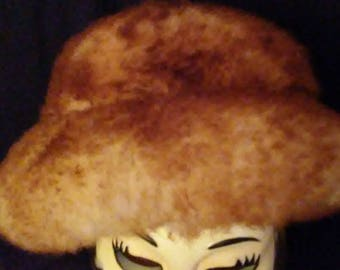 Vintage 60's Lambswool Hat Italy