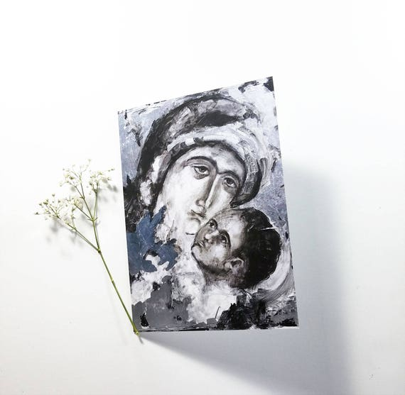 Blessed Mother Note Card 5x7