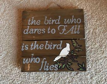 The  Bird Who Dares