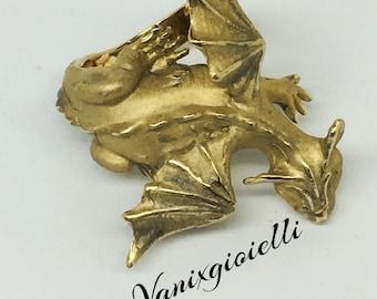 Hand made bronze dragon ring, handcrafted jewel, animal jewel, matte shiny, contariè ring, Maxi Ring, unisex jewel, Vanixgioie