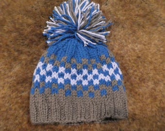 Groomer Hand Knit Hat