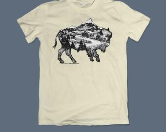 Bison Roaming Shirt