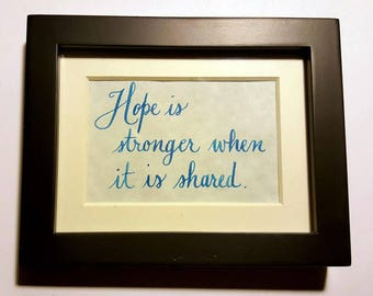 Hope 2x3