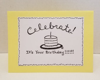 Birthday Card- Celebrate!