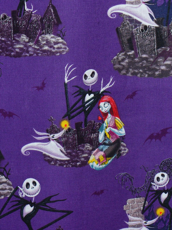 Nightmare Before Christmas, Half Yard, Halloween Fabric, Jack ...