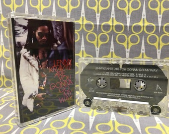 Are You Gonna Go My Way by Lenny Kravitz Cassette Tape rock